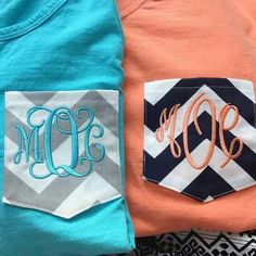 Going to get at least 10 monogrammed shirts