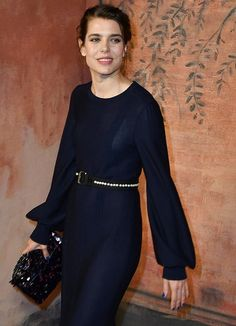 Charlotte at Grand Palais Attended Chanel Cruise  2017/2018 Collection show