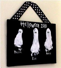 Fall Crafts for Kids - Halloween keepsake