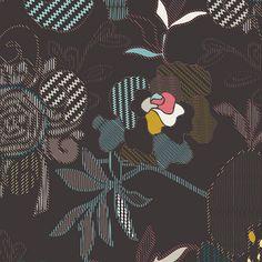 Etno - Stitched Anthomaniac Deep (Midnight)   Knit