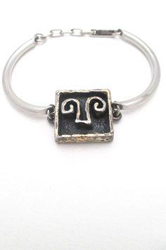 Guy Vidal 'shadow box' bracelet