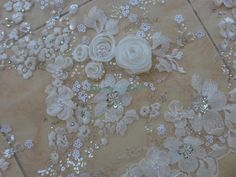 205 Best Fabric Images Fabric Beads Lace Tambour Beading
