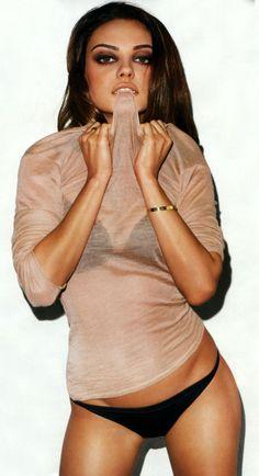 mila kunis<3 PERFECT amount of skinny.