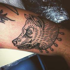 Izabella Dawid Wolf, Stara Baba Tattoo  #wilk #wolf #wolftattoo #linetattoo #homemadetattoo #blacktattoo #blackwork #blackink #tattoo #tattooed #inked #ink #dziara #tattoogram #newtattoo #newink #izabelladawidwolf #starababatattoo