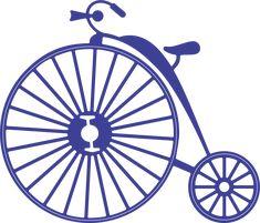 Cheery Lynn Designs - Vintage Bicycle (Steampunk Series) - B356, $12.95 (http://www.cheerylynndesigns.com/vintage-bicycle-steampunk-series-b356/)