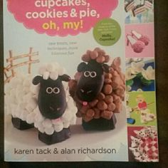 Cupcakes cookies and pie oh my book . Brand new Unique book with recipes for cupcakes, cookies and pie. The cutest ideas and recipes for any theme you come up with. Other