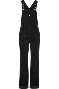 Alexa Chung for AG Jeans The Bunny Cotton-Corduroy Overalls, $325; net-a-porter.com   - ELLE.com