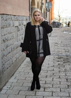 Plus Size Fashion #plussize http://emmisnicker.blogspot.se/2015/02/lets-go-dancing.html