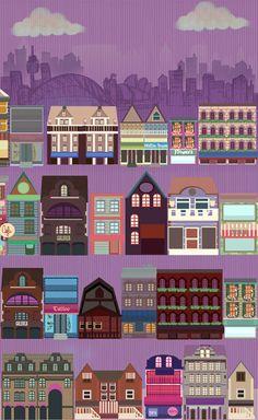 http://www.dejurka.ru/inspiration/flat-vector-city/