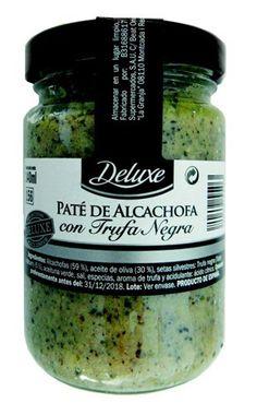 "Paté de alcachofa con trufa negra ""Deluxe"""