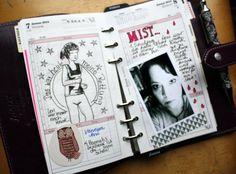 Filofax Bildtagebuch von Britta |www.danipeuss.de