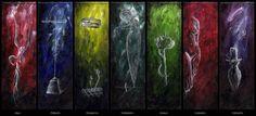 7 Deadly Sins by Anacorreal on DeviantArt Seven Deadly Sins Symbols, 7 Deadly Sins, Hunting Painting, Pokemon, 7 Sins, User Profile, Deviantart, Chimera, Tokyo Ghoul