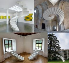 Las escaleras que marcan el carácter del edificio!... Proyectos que realzan la arquitectura del escalón que muchas veces sobrepasan la realidad.