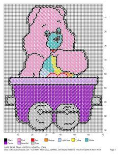 Care Bear Train Set 33