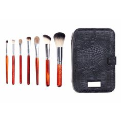 🎉HP🎉 7 Piece Italian Badger Brush Set Brand new... Never used or tested!  Comes with 7 luxury Italian Badger Brushes and traveling case.                                                                          🚫 No trades  Price firm unless bundled. Makeup Brushes & Tools