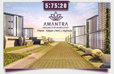 TATA AMANTRA - Own your home in Amantra by	 2 and 3 BHK Price Starting Rs. 85 Lacs Onwards - IN Mumbai City