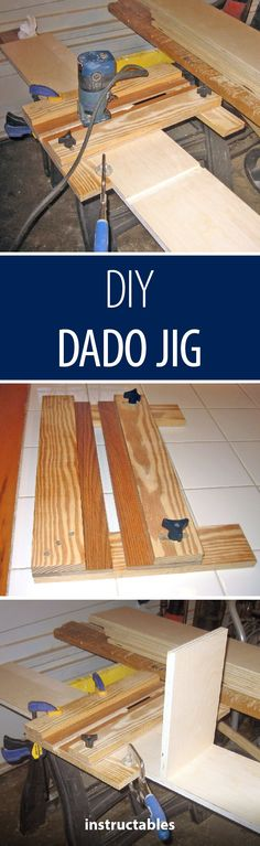 DIY Dado Jig #woodworking #workshop