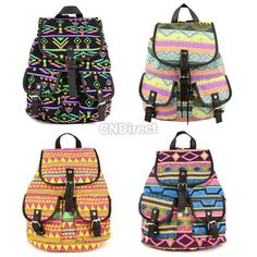 25% off New Korean Style Lady Girl Canvas PU Leather Hobo Backpack ...