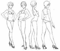 Body Drawing Tutorial, Manga Drawing Tutorials, Figure Drawing Reference, Art Reference Poses, Art Poses, Drawing Poses, Character Design References, Character Art, Art Sketches