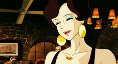 #gif Studio Ghibli Films, Art Studio Ghibli, Miyazaki Film, Chasseur De Primes, Pom Poko, Le Vent Se Leve, Castle In The Sky, Animation Film, Illustration Art
