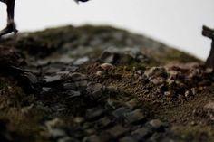 Modélisation d'un cimetière (3 tombes plus un arbre et un socle texturé avec cheminpavé)Décor de wargame 33mm   #warhammer #ageofsigmar #wargame #figurine #impression3d #3dprint #3dprinting #formlabs #formone #maquette Impression 3d, Age Of Sigmar, 3d Printing Diy, Desserts, Miniature, Prints, Food, Mockup, Impressionism