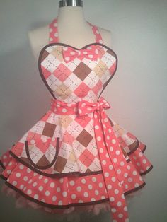 Hey, I found this really awesome Etsy listing at https://www.etsy.com/listing/217629575/pretty-in-pink-nerd-pin-up-apron-pink