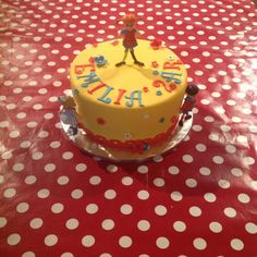 Pippi Longstocking Birthday Cake