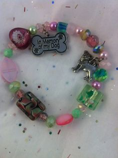 In Memory of My Dog Animal Rescue Charm by WhimsicalMystical - donation to animal rescues - lovely gift for anyone  who has had a loss.