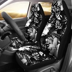 2 x CAR SEAT COVERS PROTECTORS FOR Ford Galaxy SET Black Vest