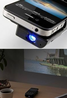 Pool tables pools and glass pool on pinterest for Brookstone pocket projector micro