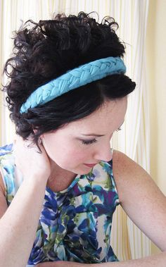 braided head band tutorial