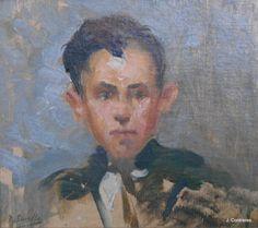 Joven Torero - Joaquin Sorolla y Bastida  #galeriartenlinea