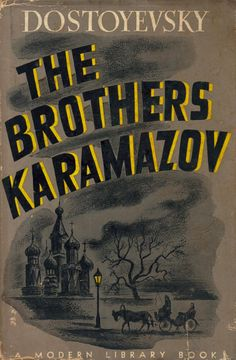 The Brothers Karamazov (by Fyodor Dostoevsky)   #bookcovers #illustration #russianliterature