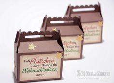 Two Plätzchen a day... Keksverpackung von Colorworxx