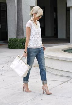 698a17ac786 103 Best Rolled Up Jeans images in 2018 | Casual outfits, Denim ...