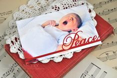 Peace Photo Card by Dawn McVey for Papertrey Ink (September 2013)