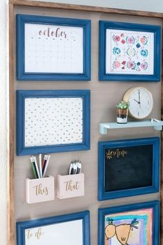 Charming Parent Command Center Design Ideas For Busy Moms