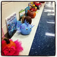 Book character pumpkins -  Five for Friday...family pics, Halloween, pumpkins, shapes, and more!