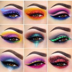 Gagggggingg over her artistry! Gagggggingg over her artistry!You can find Cool makeup looks and more on our website.Gagggggingg over her artistry! Gagggggingg over her artistry! Crazy Eye Makeup, Creative Makeup Looks, Eye Makeup Art, Colorful Eye Makeup, Eyeshadow Makeup, Makeup Drawing, Dramatic Eye Makeup, Gel Eyeliner, Colorful Eyeshadow