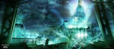 Final Fantasy VII, Ludovic Grieco on ArtStation at http://www.artstation.com/artwork/final-fantasy-vii