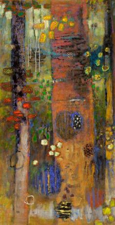 Rick Stevens Art - Modulating Presence oil on canvas Abstract Landscape, Landscape Paintings, Abstract Art, Rick Stevens, Paintings I Love, Acrylic Art, Art Plastique, Tree Art, Contemporary Paintings