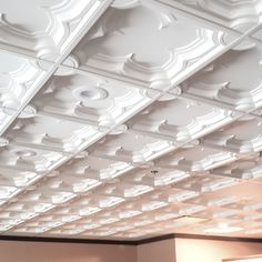 The built-in depth of Gothic Coffer Ceiling Tile, adds dimension to this new restaurant in Connecticut. This Gothic inspired interior exhibits an intricate and delicate aesthetic in this fine dining space. Traditional Tile, Traditional Interior, Interior Ceiling Design, Coffer, Ceiling Tiles, Commercial Interiors, Tile Design, Fine Dining, Connecticut
