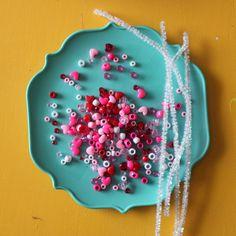 scrumdilly-do!: make beaded valentine bracelets