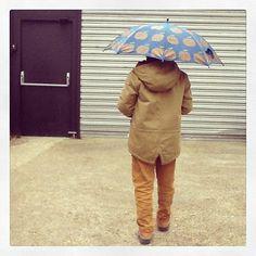 Journée heureuse, journée pluvieuse. #lillibulle #kidsfashion #modeenfantine #bellerose