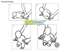 Facilitating Side-Lying to Sitting in Infants  http://therapylibrary.com/index.php?option=com_content=article=388=3270