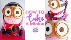 3D Minion Cake (Youtube Tutorial)
