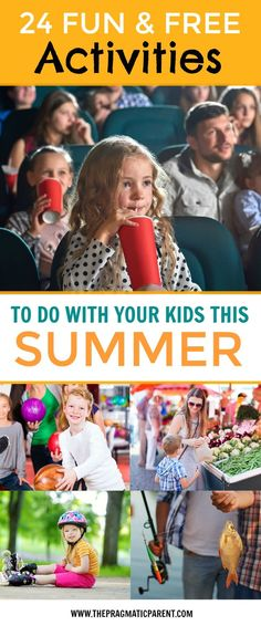 24 Free Activities to Do with Your Kids this Summer. Free and fun summer activities offered by companies, parks and amusements to do with your kids and and have summer fun with the entire family.