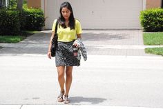 What Belen wore to work last week. Today on her blog! #ootd #mystyle #bloggerspotlight