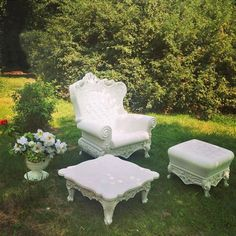 Furnishing your garden space. #slidedesign #designoflove #Queenoflove…
