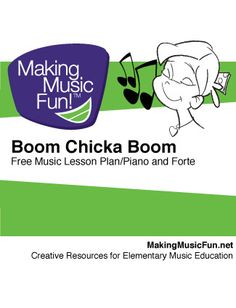 Boom Chicka Boom (Dynamics) | Free Music Lesson Plan Level Grade K-1 Objective Students will understand and demonstrate two dynamic levels: piano (p) and forte (f). This lesson is designed to fulfill Standard #4 of the National Standards for Music: Composing and arranging music within specified guidelines. Materials Provided: Boom Chicka Boom (Rhyme) Boom Chicka Boom | Music Lesson Manipulatives Plastic Sandwich Bags - Super fun lesson that's always a hit with K-1 kids!